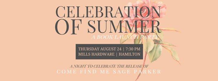 A Book Launch Party by Aliza Latta