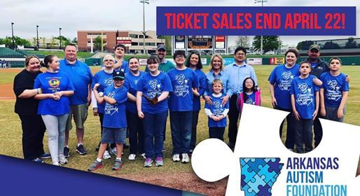 Autism Awareness Night with the Arkansas Travelers 2019