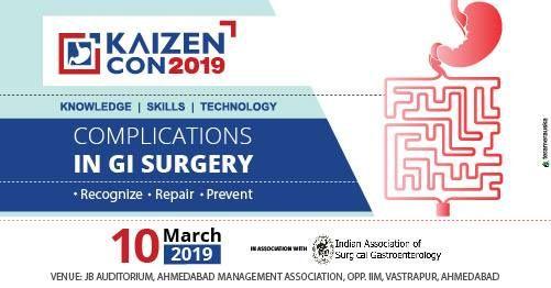 Kaizen Con 2019 - Complications in GI Surgery