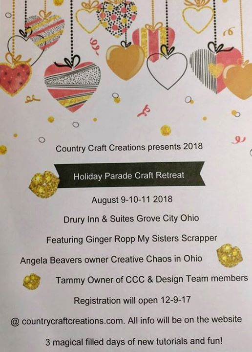Holiday Parade Craft Retreat At Country Craft Creations In Hooper