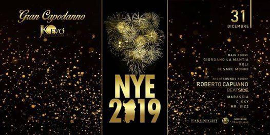 Gran Capodanno JKO  NYE 2019  Cagliari 3112