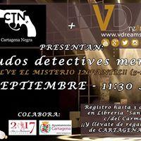 Cartagena Negra Menudos detectives menudos (de 5 a 11 aos)