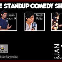 The Live Comedy Show at The Yard Delhi