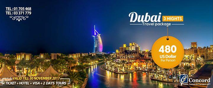 Dubai Travel Package for 480