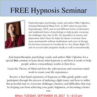 Free Hypnosis Seminar with Mike Oglesbee