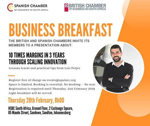 Business Breakfast with the British Chamber