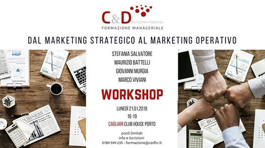 Dal Marketing Strategico al Marketing Operativo  Workshop