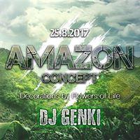 Amazon Concept w DJ Genki  Flowers Of Life