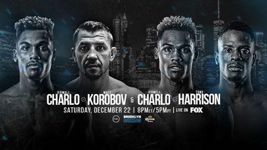 Premier Boxing Champions Jermall Charlo v Matt Korobov