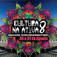 Cultura Na Ativa 8 edio - Encontro Cultural Urbano