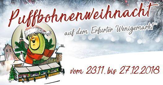 Erfurter Puffbohnenweihnacht