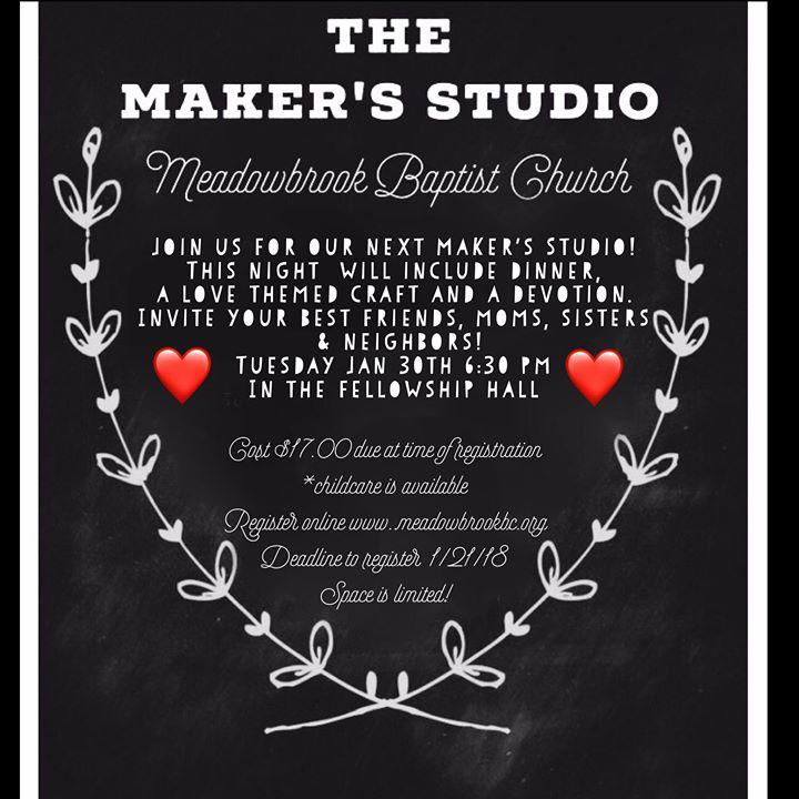 The makers studio at meadowbrook baptist church robinson tx waco the makers studio stopboris Images