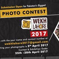 Wekh Lahore Photo Contest