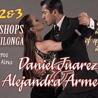 Daniel Juarez and Alejandra Armenti in Vancouver