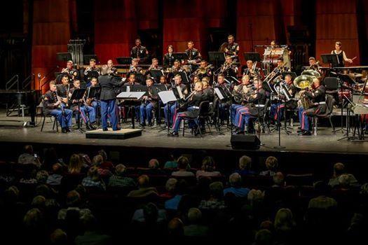 USMC 1st Marine Division Military Concert