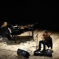 Guinga and Stefania Tallini duo at CJC