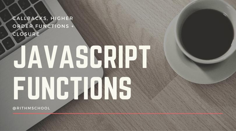 (Online) Master JavaScript Functions