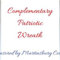 Complementary Patriotic Wreath