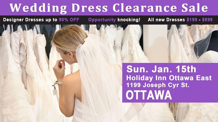 Ottawa Wedding Dress Clearance Sale