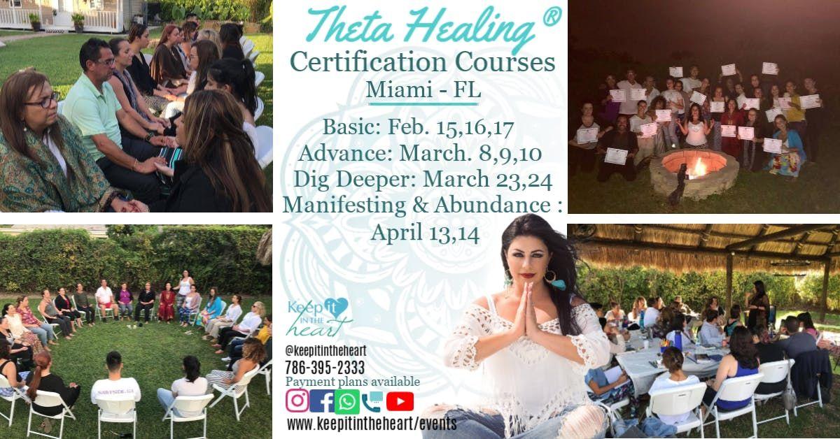 Theta Healing Basic DNA Seminar MIAMI February 151617 2019