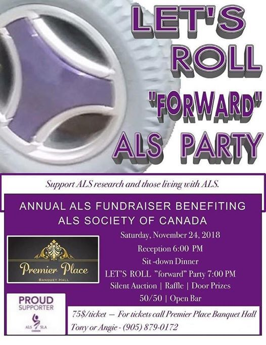 ALS Fundraiser At Premier Place Banquet Hall Vaughan