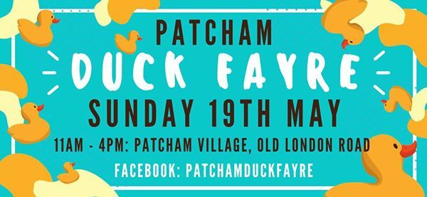 Patcham Duck Fayre - Sunday May 19th 2019