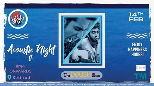 Acoustic Night ft The Poush Blues (Hidden Place Kothrud)
