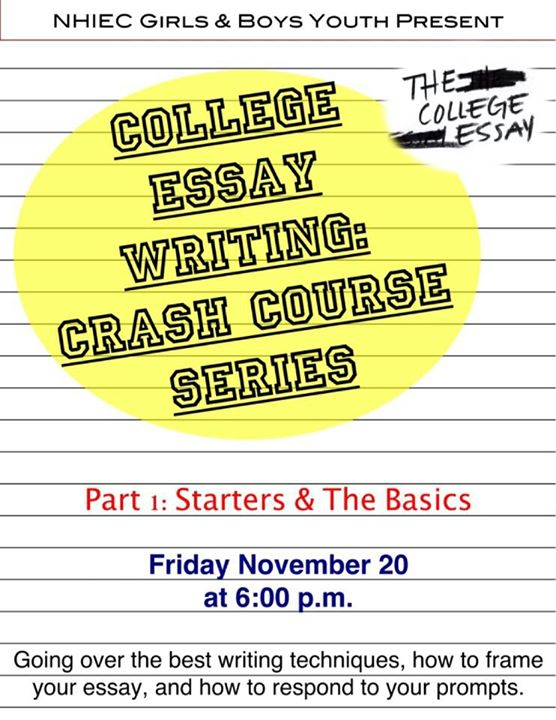 essay writing crash course