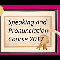 Speaking and Pronunciation Intermediate Level September 2017