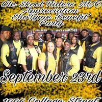 Ole Skool Riders AppreciationShoTyme Benefit Party