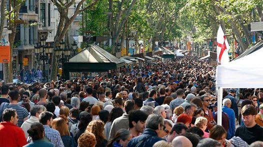 Sant Jordis Day Barcelona 2019