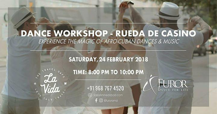 Dance Workshop Rueda De Casino