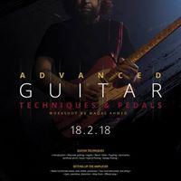 Advanced Guitar Techniques &amp Pedals Workshop
