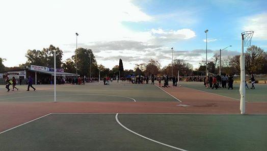 Junior Netball Registration Day at J C King Park, Albury