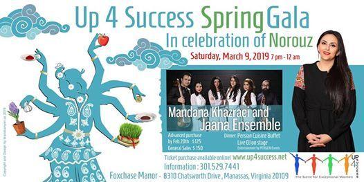 Up4Success  Spring Gala  Celebrating Norouz 2019