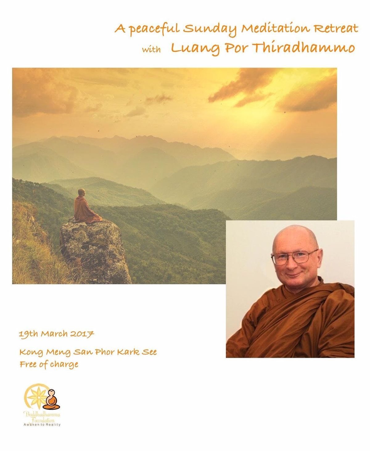 Right effort Energy and Spiritual Urgency A Meditation Retreat with Ven LP Tiradhammo