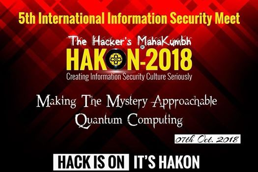 Hakon International Cyber Security Meet 2018