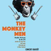 Concert amb The Monkey Men  Classe oberta de rock