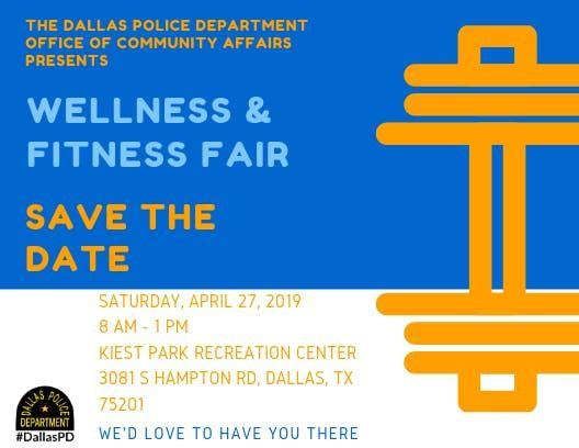 Dallas Police Department - Wellness & Fitness Fair