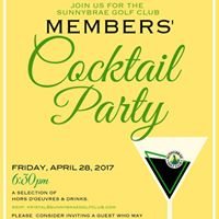 Members Cocktail Party