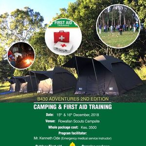 B4-30 Adventures 2nd Edition Camping &amp First Aid training