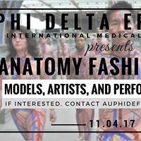 Anatomy Fashion Show by Phi Delta Epsilon