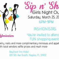 Sip N Shop Girls Night Out