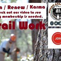 PAS - Bent Creek -Trail Work Day
