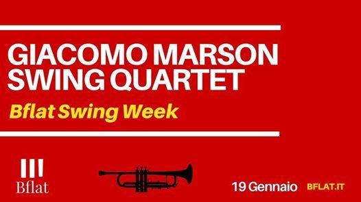 Giacomo Marson Swing Quartet Bflat Swing Week