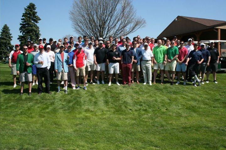Theta Chi Delta Kappa Alumni Golf Outing at Cresview Golf