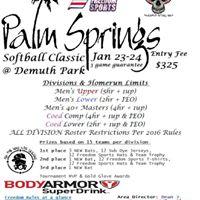 Palm Springs Softball Classic