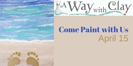 Canvas Painting at A Way with Clay, Boise