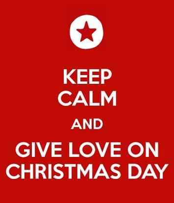 Give Love On Christmas Day.Give Love On Christmas Day 2 At Maria Reyna Ng Mga Apostoles