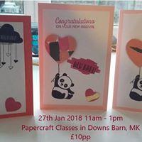 Papercraft classes